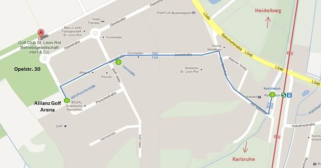 öffentliche Verkehrsmittel Routenplaner : golf club st leon rot anfahrt ~ Watch28wear.com Haus und Dekorationen